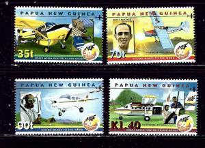 Papua New Guinea 1001-04 MNH 2001 Mission Aviation Fellowship