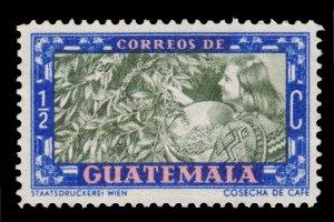 GUATEMALA STAMP 1950. SCOTT # 330. USED.