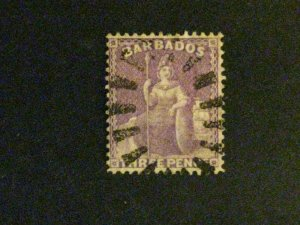 Barbados #52 used  a198.9211