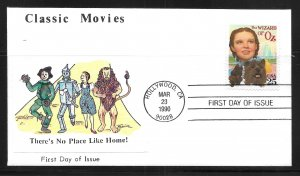 United States 2445 Wizard of Oz First Day Cover FDC (z6)