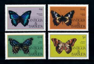 [71127] Antigua & Barbuda 1985 Insects Butterflies  MNH