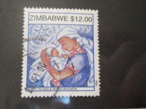 Zimbabwe #834 used  2019 SCV = $1.00