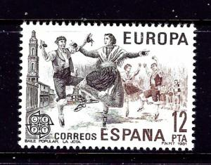 Spain 2236 MNH 1981 Europa issue