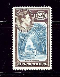 Jamaica 126 MH 1938 Bamboo Walk