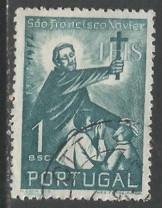 PORTUGAL 753 VFU N662-2