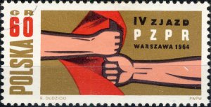 POLAND / POLEN - 1964 Mi.1500 60Gr. Workers' Party Congress - VF Used (a)