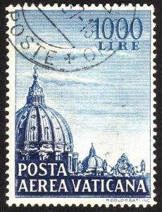 1953, Vatican 1000L, Used, Sc C23