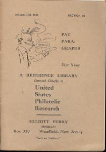 Pat Para-Graphs, 21st Year, A Reference Library Devoted C...