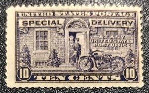 #E12 - 1922 10¢ Special Delivery Stamp, MNH, OG.  Jumbo Margins.  SCV $95.00