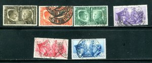 Italy 413 - 416 Hitler Mussolini Rome Berlin Axis 1941  Used