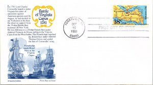 United States, Virginia, First Day Cover