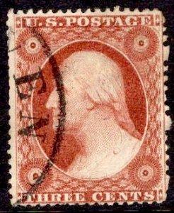US Stamp #26 USED SCV $10