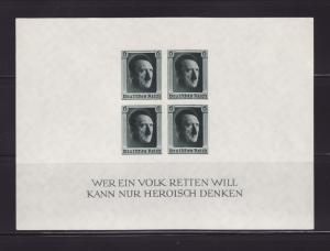 Germany B103 Set MNH Adolf Hitler