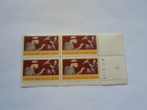 SC # 2023 PL. BLOCK 20 CENTS ST. FRANCIS OF ASSISI MNH