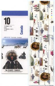 Canada - 1995 Arctic Institute Complete Booklet #BK184b