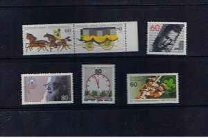 W GERMANY 1985 UNMOUNTED MINT