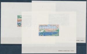Laos stamp Economic Committee de Luxe block set MNH 1972 Mi 334-336 WS138892