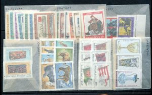 Hungary 1980/81 Wildlife Sport Flags MNH (Appx 34)NT 3608ss