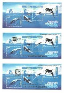 Australian Antarctic Territory  L53 thru L101 + SS OGNH