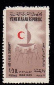 Yemen - #188B Red Cross - MNH