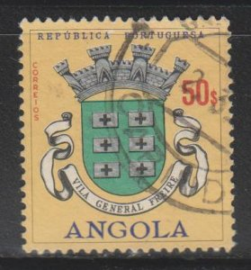 Angola,  50e Arms, General Freire (SC# 488) Used