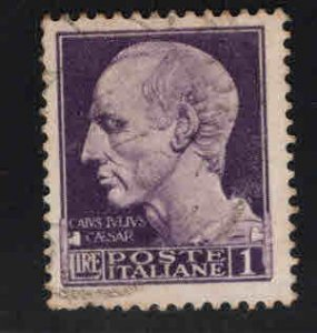 Italy  Scott 222A used stamp