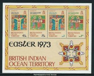 British Indian Ocean Territory Scott 53a Mint never hinged.