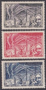 French Southern & Antarctic Territory Sc #8-10 Mint Hinged