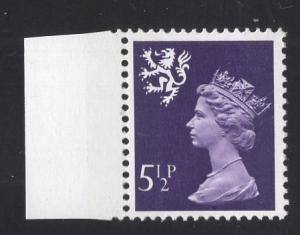 Great Britain Scotland  #SMH6  5 1/2p   MNH Q E II   Machin