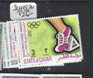 QATAR   (P116BB)    OLYMPICS  SG 415-422   MNH