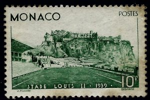 Rare Monaco Scott #176  Mint LH OG VF w/toning...Tough to buy at these prices!