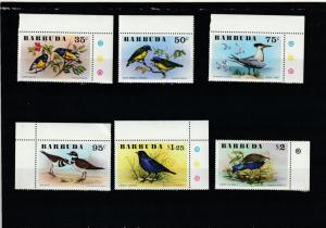 Barbuda  Scott#  238-43  MNH
