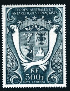 FSAT Beautiful Antarctic issue SC C23 VF MNH Cat $20...Very Limited and Popular!