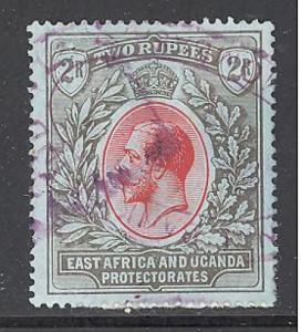 East Africa & Uganda 50 used SCV $ 45.00 (RS)