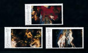 [100057] Grenada 2009 Art Painting Rubens Nature Adorning Three Graces  MNH
