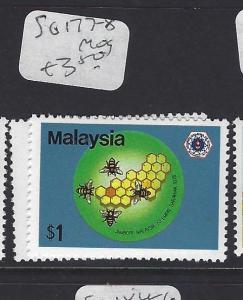MALAYSIA (P3008B)  SG  177-8    MOG