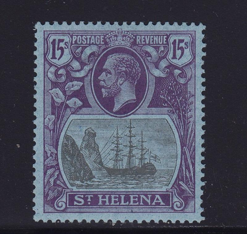 St Helena Scott # 94 VF OG lightly hinged nice color cv $ 1100 ! see pic !