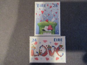 Ireland #706-07 Mint Never Hinged - (1C9) WDWPhilatelic