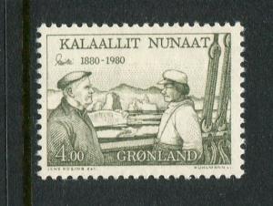 Greenland #135 Mint