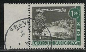 Germany Berlin Scott # 9N207, used