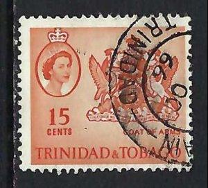 TRINIDAD & TOBAGO 116 VFU ARMS V245-6