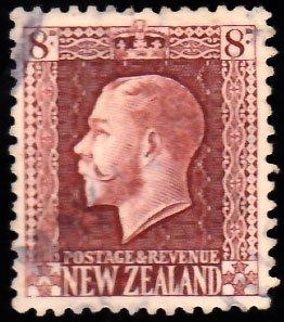 New Zealand Scott 157 Used.