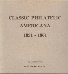 Frajola: Sale # Net Price 3  -  Classic Philatelic Americ...