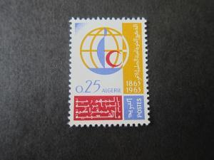 French Algeria 1963 Sc 313 MH