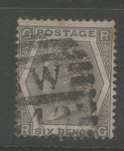 GB 1872 Queen Victoria SG 125 PL12  FU