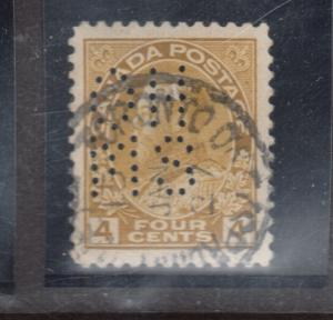 Canada #OA110 Very Fine Used With Jan 15 1927 CDS Cancel
