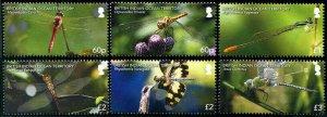 HERRICKSTAMP NEW ISSUES BRITISH INDIAN OCEAN TERRITORY Dragonflies