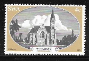 South West Africa 419: 4c Windhoek, used, VF