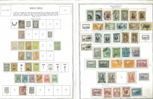 Bulgaria 1939-1964 M, CTO & U Hinged on Minkus Global Pages.