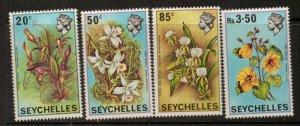 SEYCHELLES SG288/91 1970 FLOWERS MNH